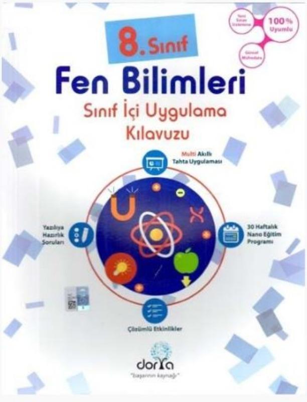 Dorya Yayınları 8. Sınıf Fen Bilimleri Sınıf İçi Uygulama Kılavuzu