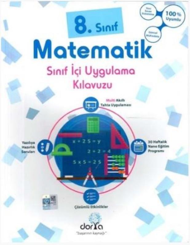 Dorya Yayınları 8. Sınıf Matematik Sınıf İçi Uygulama Kılavuzu