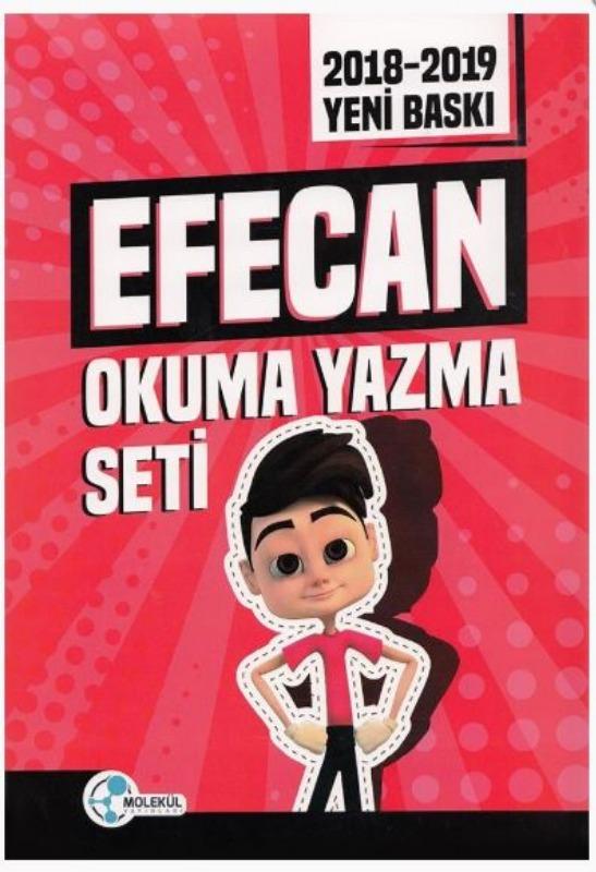 Efecan Okuma Yazma seti Molekül Yayınları