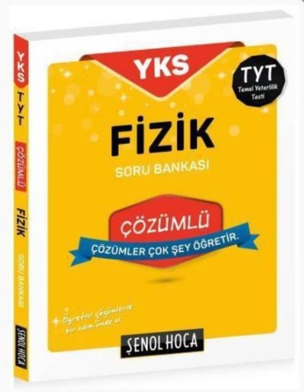 Şenol Hoca Yayınları TYT Fizik Çözümlü Soru Bankası