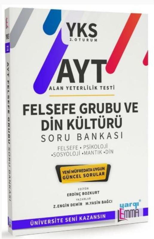 Yargı Lemma Yayınları AYT Felsefe Grubu ve Din Kültürü Soru Bankası