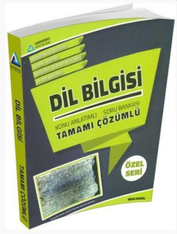Sıradışıanaliz Yayınları TYT Dil Bilgisi Tamamı Çözümlü Konu Özetli Soru Bankası