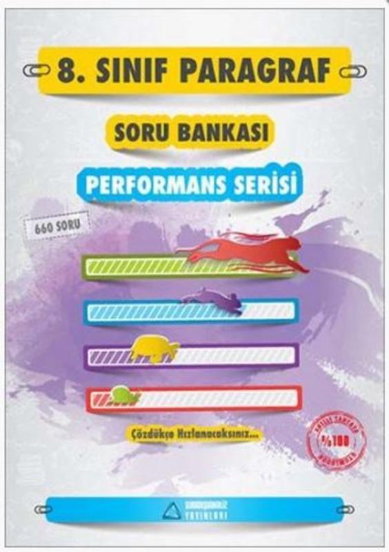 Sıradışıanaliz Yayınları 8. Sınıf Paragraf Performans Serisi Soru Bankası