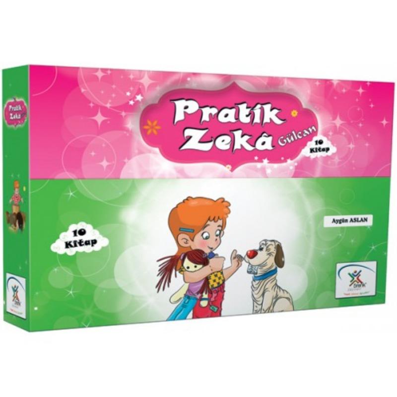 Pratik Zeka Gülcan Dizisi (10 Kitap) 5Renk Yayınları