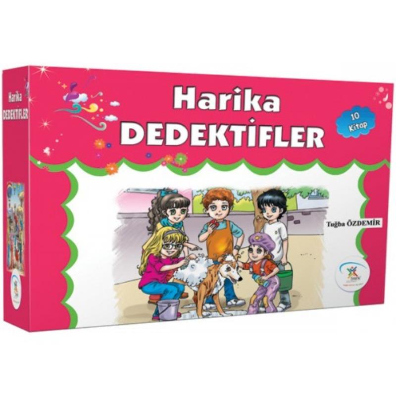 Harika Dedektifler (10 Kitap) 5Renk Yayınları