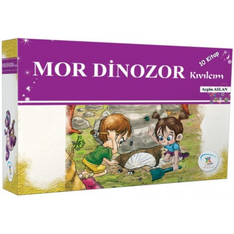 Mor Dinozor Kıvılcım (10 Kitap) 5Renk Yayınları