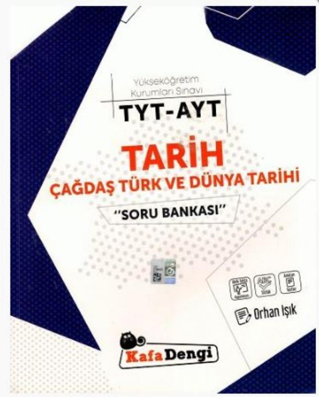 TYT AYT Tarih-Çağdaş Türk ve Dünya Tarihi Soru Bankası Kafadengi Yayınları