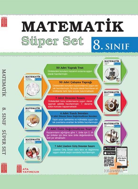 Ata Yayınları 8. Sınıf Matematik Süper Set