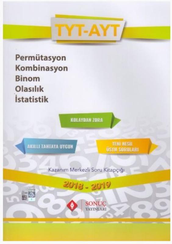 Sonuç Yayınları TYT AYT Permütasyon Kombinasyon Binom Olasılık İstatistik