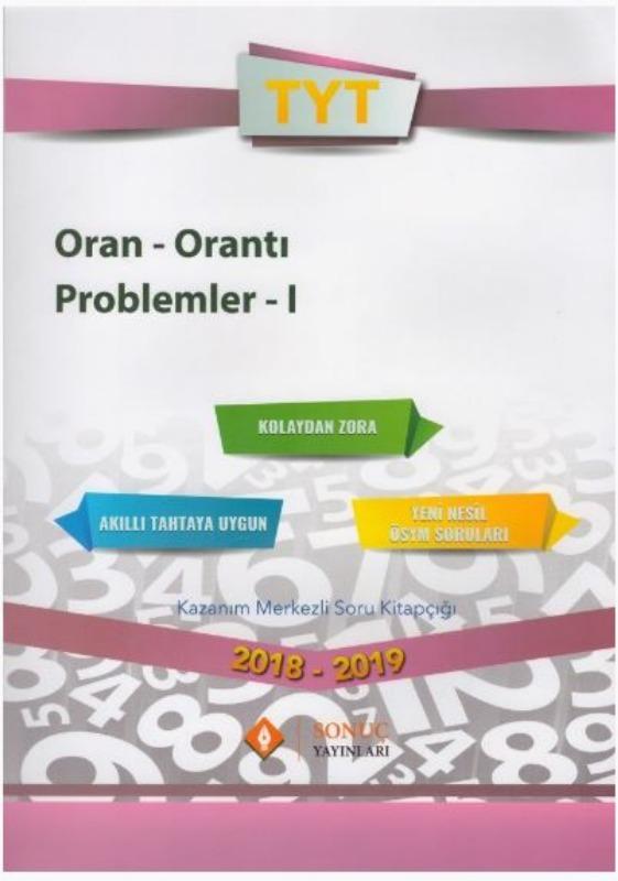 Sonuç Yayınları TYT Oran Orantı Problemler I