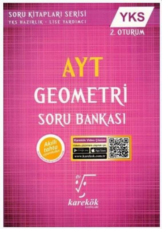 Karekök Yayınları AYT Geometri Soru Bankası