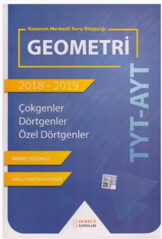 Sonuç Derece Yayınlar TYT AYT Geometri Çokgenler Dörtgenler Özel Dörtgenler