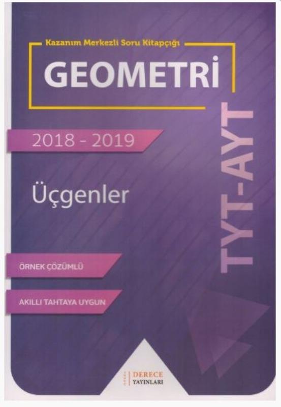 Sonuç Derece Yayınlar TYT AYT Geometri Üçgenler