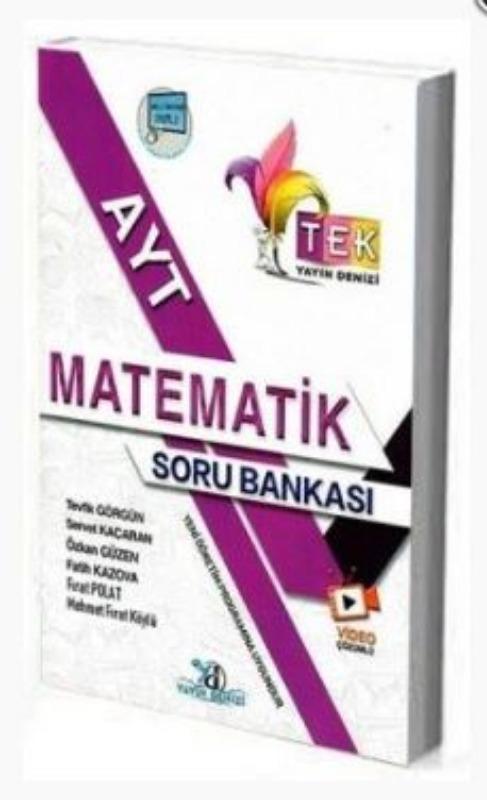 Yayın Denizi TEK Serisi AYT Matematik Soru Bankası