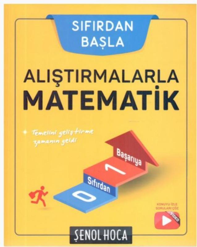 Şenol Hoca Yayınları Alıştırmalarla Matematik