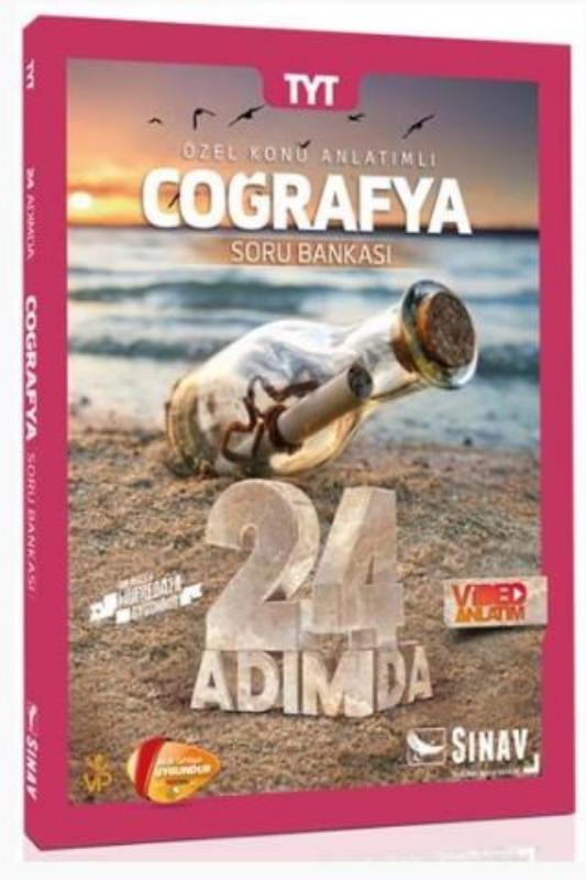 Sınav Yayınları TYT Coğrafya 24 Adımda Özel Konu Anlatımlı Soru Bankası