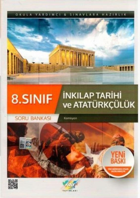 FDD Yayınları 8. Sınıf T.C. İnkılap Tarihi ve Atatürkçülük Soru Bankası