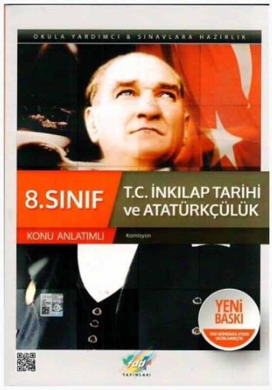 FDD Yayınları 8. Sınıf T.C. İnkılap Tarihi ve Atatürkçülük Konu Anlatımlı