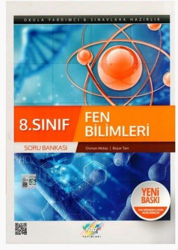 FDD Yayınları 8. Sınıf Fen Bilimleri Soru Bankası