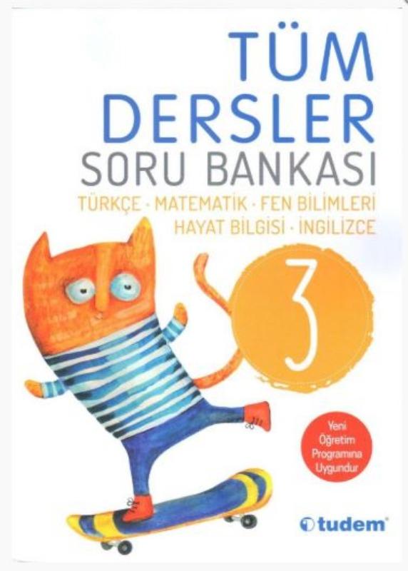 Tudem Yayınları 3. Sınıf Tüm Dersler Soru Bankası