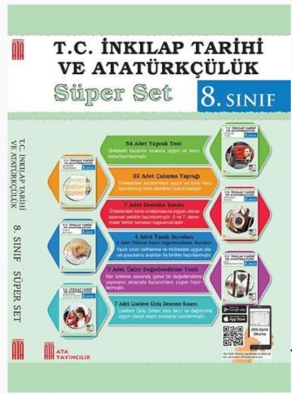 Ata Yayıncılık 8. Sınıf T.C. İnkılap Tarihi ve Atatürkçülük Süper Set