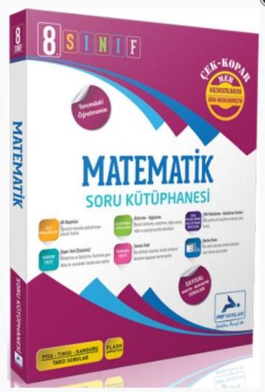 PRF Yayınları 8. Sınıf Matematik Soru Bankası