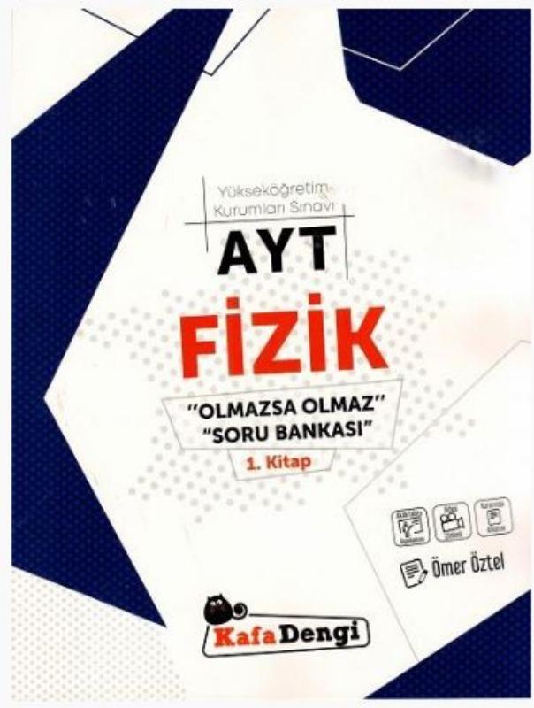 Kafa Dengi Yayınları AYT Fizik Olmazsa Olmaz Soru Bankası