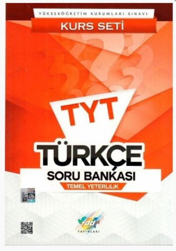 FDD Yayınları TYT Türkçe Soru Bankası Kurs Seti