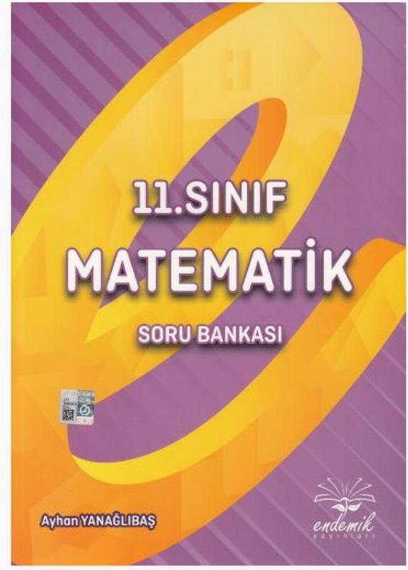 Endemik Yayınları 11. Sınıf Matematik Soru Bankası