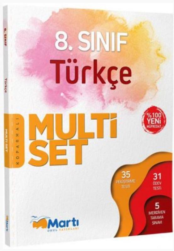 Martı Yayınları 8. Sınıf Türkçe Koparmalı Multi Set
