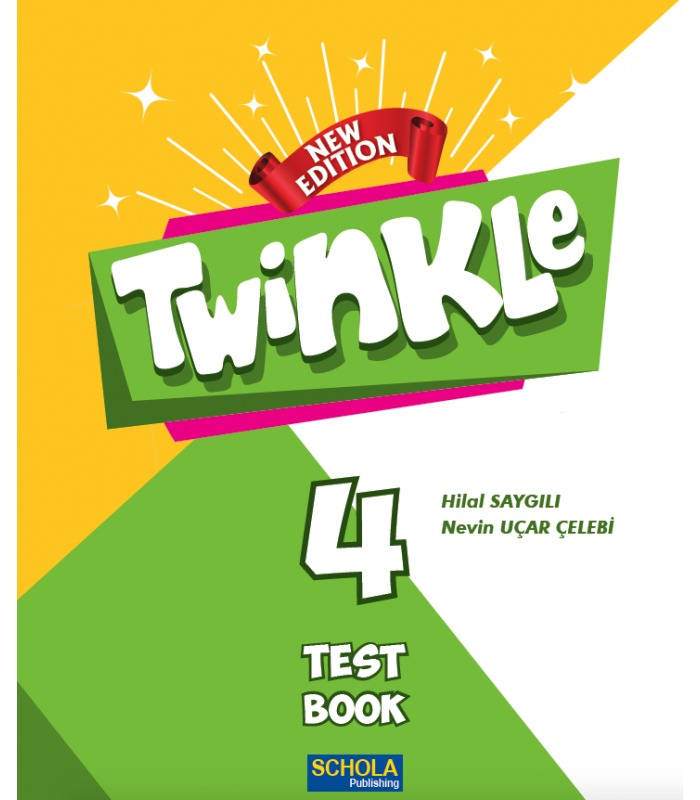 Schola Publishing 4. Sınıf Twinkle Test Book