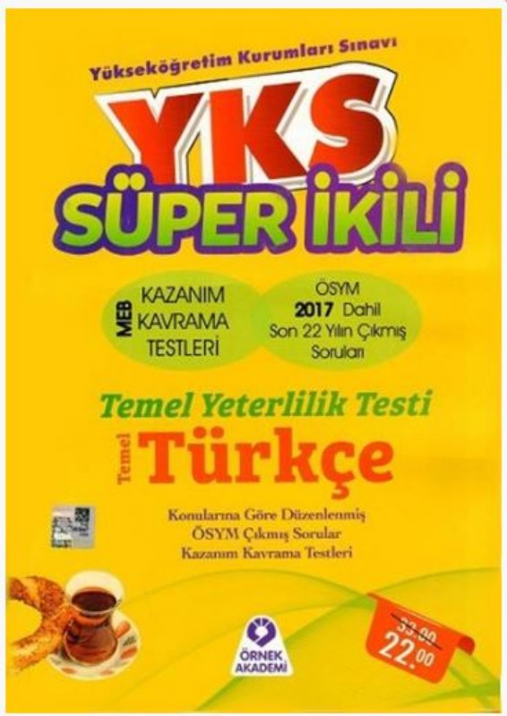 Örnek Akademi TYT Süper İkili Türkçe Çıkmış Sorular Kazanım Kavrama Testleri