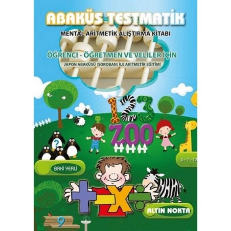 Altın Nokta Yayınları Abaküs Testmatik - Mental Aritmetik Alıştırma Kitabı