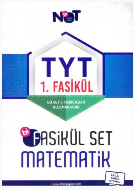 Bi Not Yayınları TYT Matematik Bi Fasikül Set