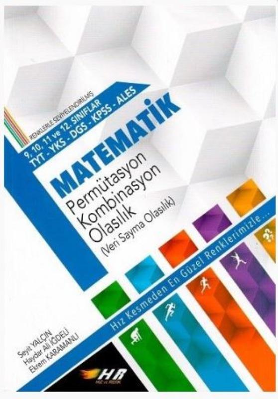 Hız ve Renk Yayınları YKS TYT DGS KPSS ALES Matematik Permüstasyon Binom Olasılık