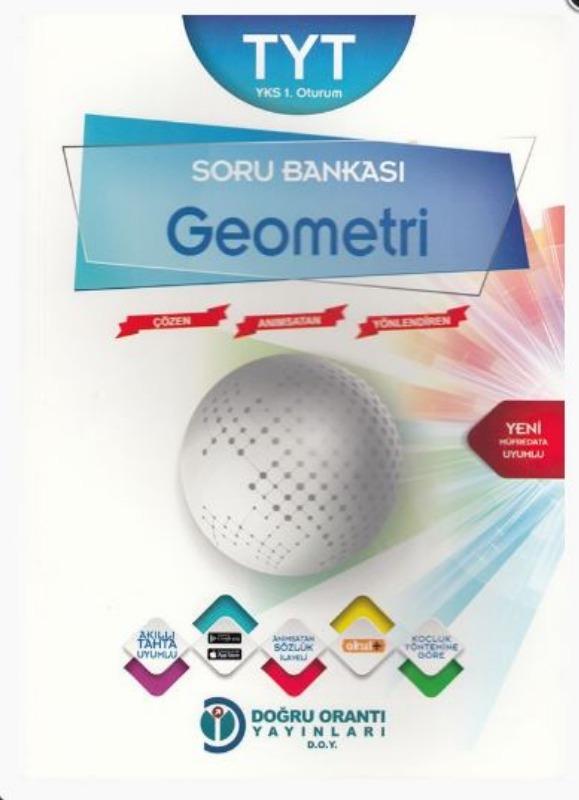 Doğru Orantı Yayınları TYT Geometri Soru Bankası