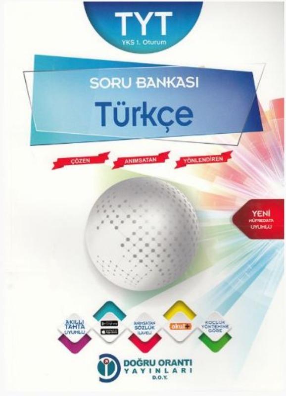 Doğru Orantı Yayınları TYT Türkçe Soru Bankası