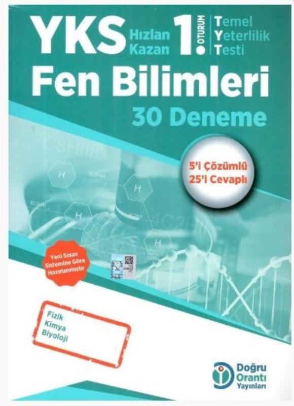 Doğru Orantı Yayınları YKS TYT Fen Bilimleri 30 Deneme