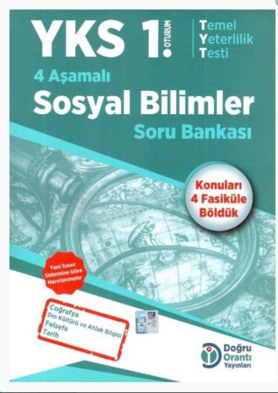 Doğru Orantı Yayınları YKS TYT 4 Aşamalı Sosyal Bilimler Soru Bankası
