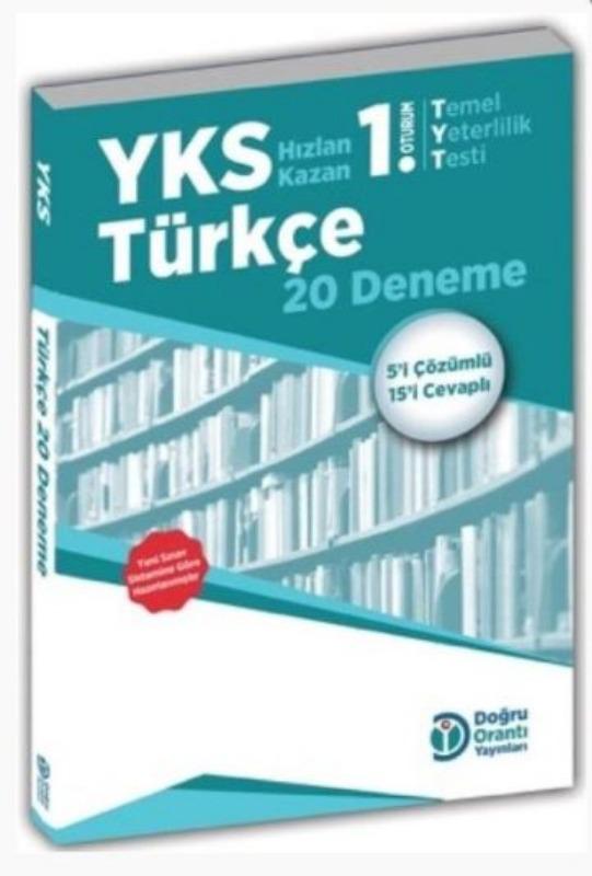 Doğru Orantı Yayınları YKS TYT Türkçe 20 Deneme