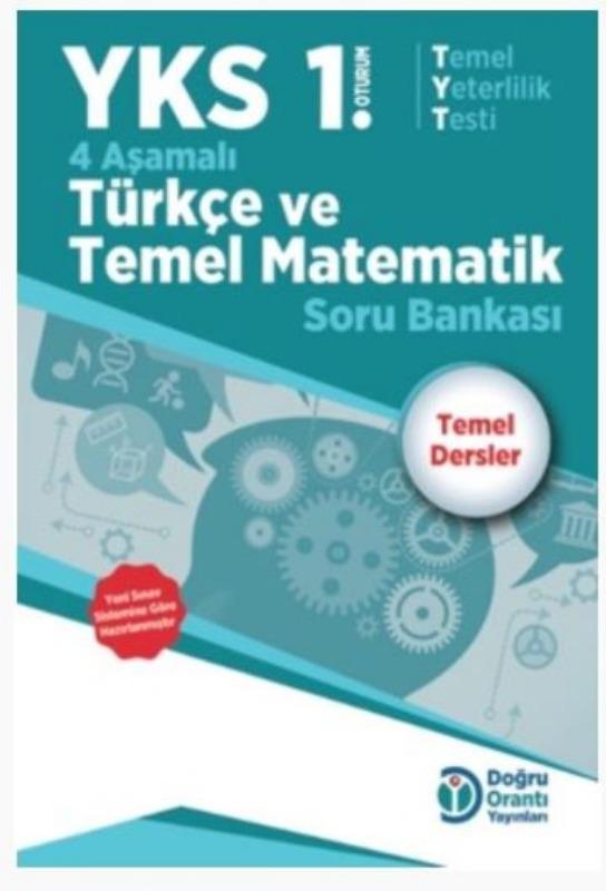Doğru Orantı Yayınları YKS TYT 4 Aşamalı Türkçe Temel Matematik Soru Bankası