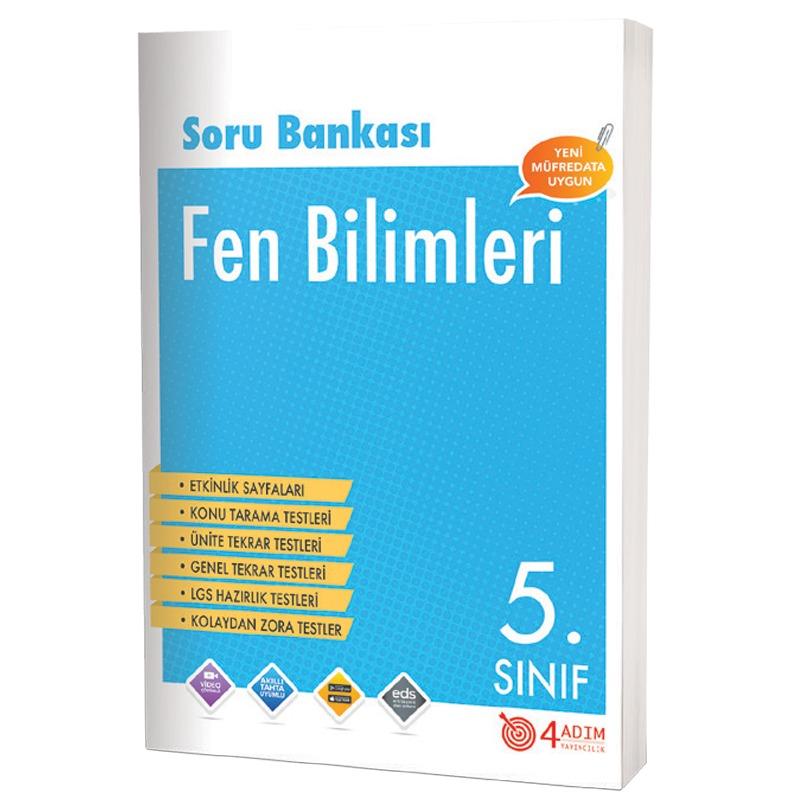 4 Adım Yayınları 5.Sınıf Fen Bilimleri Soru Bankası