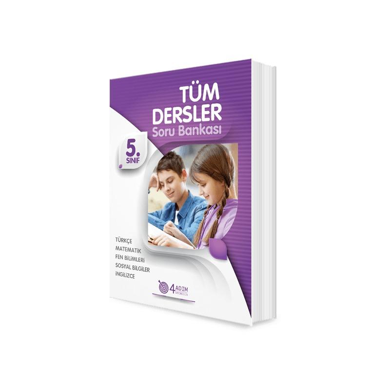 4 Adım Yayınları 5.Sınıf Tüm Dersler Soru Bankası