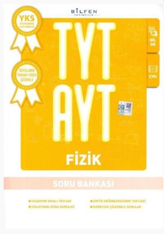 Bilfen Yayınları TYT AYT Fizik Soru Bankası
