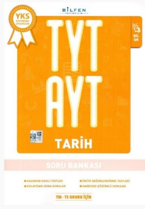 Bilfen Yayınları TYT AYT Tarih Soru Bankası