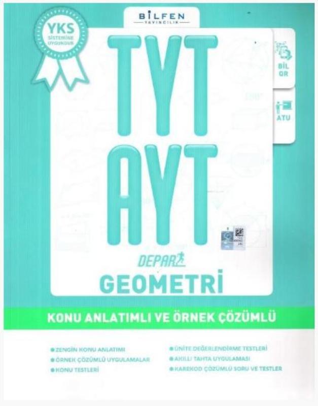 Bilfen Yayınları TYT AYT Depar Geometri Konu Anlatımlı ve Örnek Çözümlü