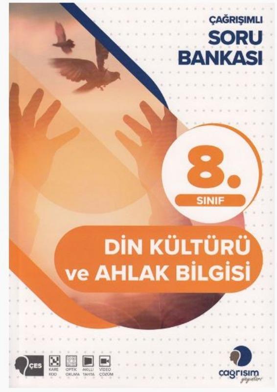 Çağrışım Yayınları 8. Sınıf Din Kültürü ve Ahlak Bilgisi Soru Bankası