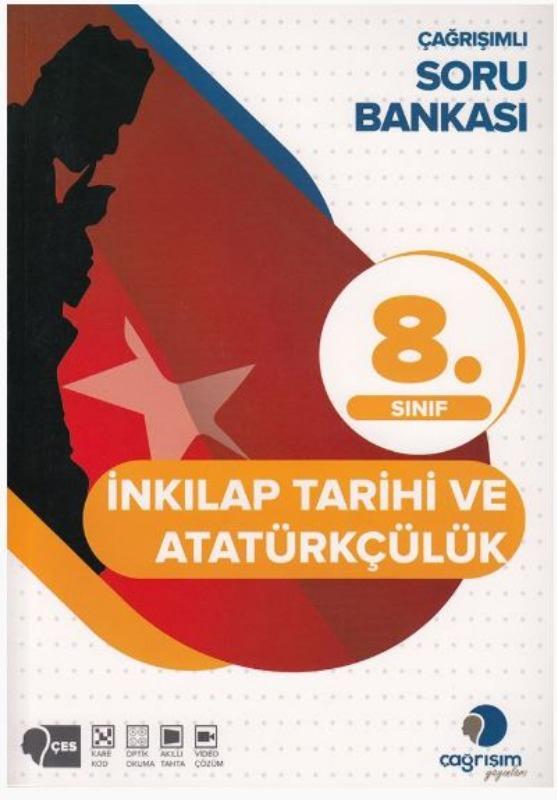 Çağrışım Yayınları 8. Sınıf T.C. İnkılap Tarihi ve Atatürkçülük Soru Bankası