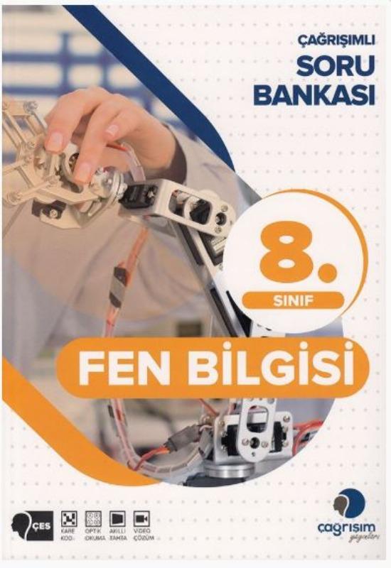 Çağrışım Yayınları 8. Sınıf Fen Bilimleri Soru Bankası