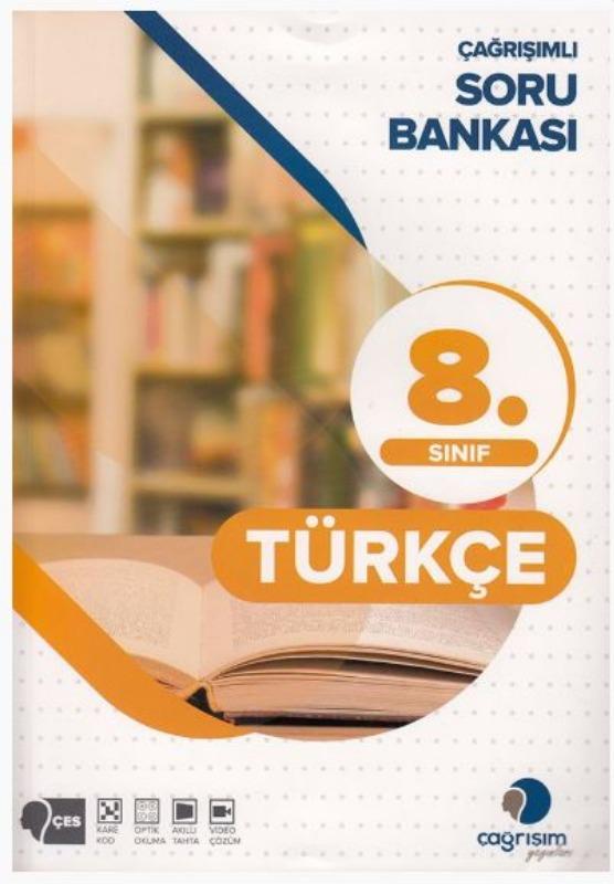 Çağrışım Yayınları 8. Sınıf Türkçe Soru Bankası